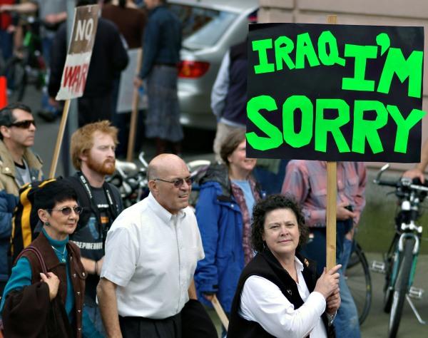 Iraq antiwar protest