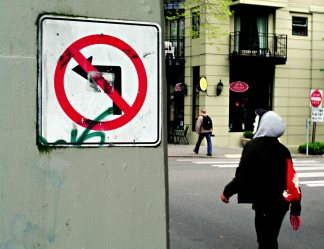 No Pretend Left Turns